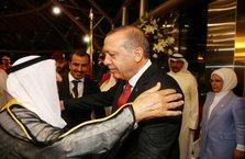 Cumhurbaşkanı Erdoğan Kuveyt'e geldi