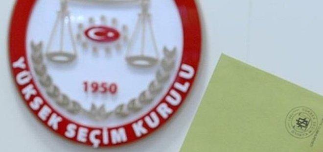 YSK CHP'NİN BAŞVURUSUNU REDDETTİ