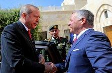Cumhurbaşkanı Erdoğan ve Ürdün Kralı ortak bildiri yayınladı
