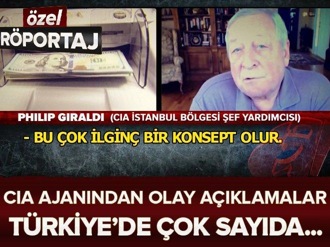 CIA İstanbul bölgesi şef yardımcısından Yaz-Boz'a özel açıklamalar