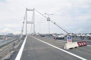 Şehitler Köprüsü'nde çalışma bitti! 6 şeritle hizmette