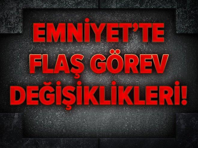 İstanbul Emniyet Müdürlüğü'nde görev değişiklikleri