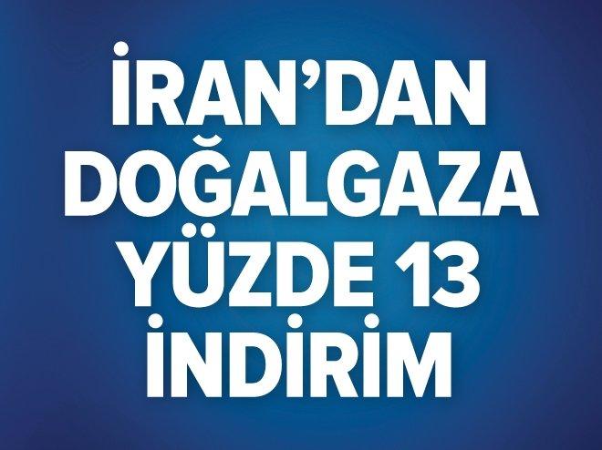 İran'dan Türkiye'ye doğalgaz indirimi
