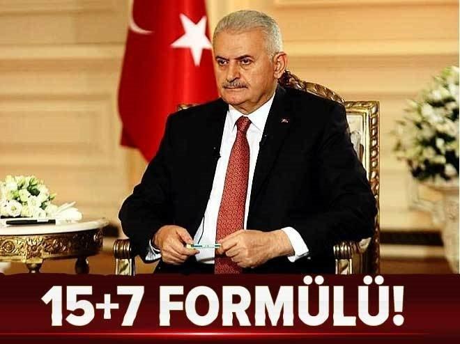 AK Parti'nin 15+7 formülü