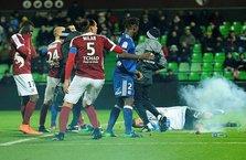 Fransa Ligi'nde skandal olay!