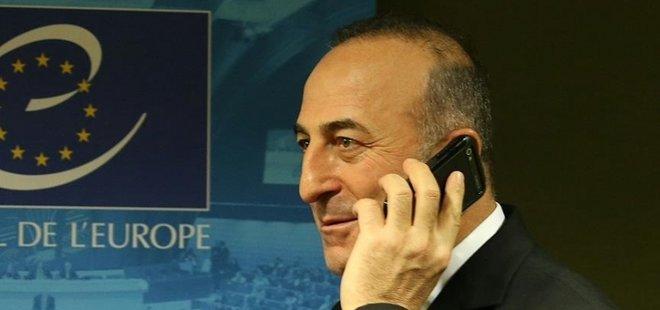 ÇAVUŞOĞLU'NDAN KRİTİK TELEFON GÖRÜŞMELERİ