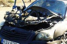 Kıbrıslı Hakemin arabasını patlattılar!