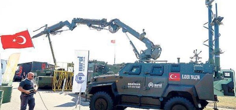 ASELSAN EYP'LERİ İMHA EDECEK ROBOT GELİŞTİRDİ