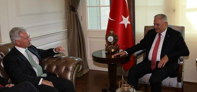 YILDIRIM, İNGİLİZ BAKAN DUNCAN'I KABUL ETTİ