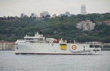 MTA Oruç Reis Karadeniz'e açıldı