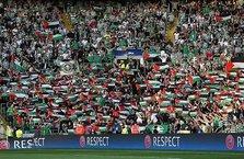 Filistinli çocuklardan Celtic'e destek