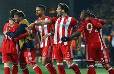 Osmanlıspor, Olympiakos'a elendi