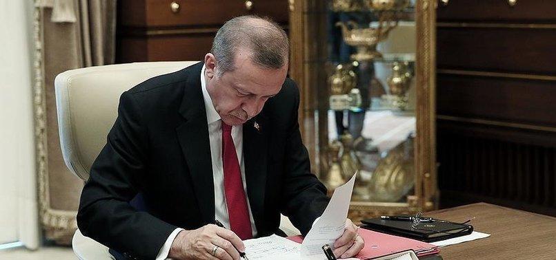 ERDOĞAN'DAN O KANUNA ONAY GELDİ