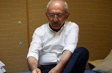 Kemal Kılıçdaroğlu'nun fanilalı pozu servis edildi