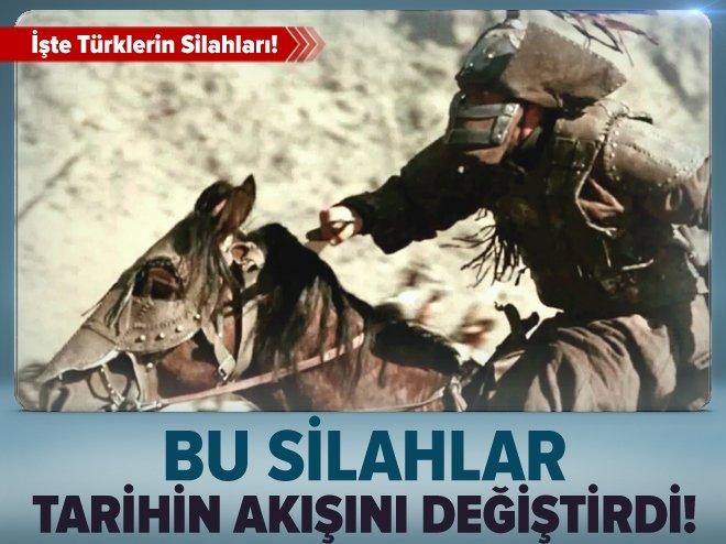 Tarihe damga vuran Türk silahları