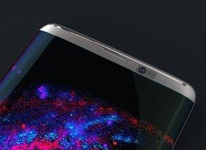 "Çift kavisli ""Samsung Galaxy 8"" konsepti"