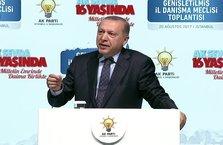 Erdoğan'dan salonu ayağa kaldıran konuşma!