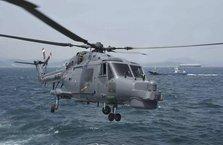 Askeri helikopter denize çakıldı