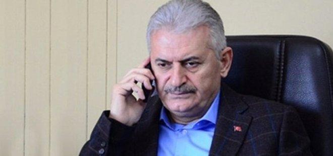 YILDIRIM'DAN HALİSDEMİR AİLESİNE TAZİYE TELEFONU