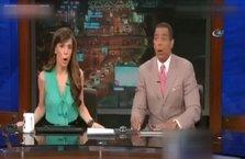 Kaliforniya'daki depreme canlı yayında yakalanan spikerlerinin paniği kamerada