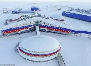 İşte Rusya'nın kutuptaki üssü