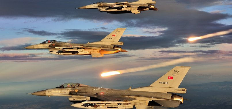 LİCE'DE PKK'YA HAVA HAREKATI