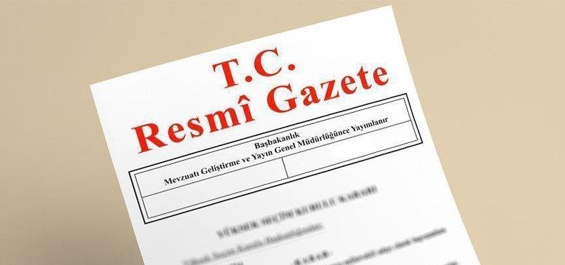 CUMHURBAŞKANI ERDOĞAN'IN YAPTIĞI REKTÖR ATAMALARI RESMİ GAZETE'DE
