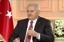 Başbakan BinaliYıldırımA Haber'de konuşuyor