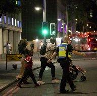 İngiltere'deki saldırıdan şok görüntüler