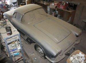 1961 Chevrolet Corvette C1 yeniden hayata döndü