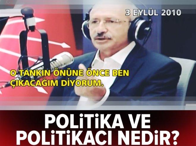 Politika ve politikacı nedir?