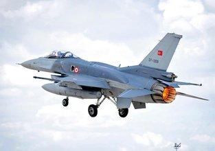 Çişini yapan pilot F-16'yı düşürmüş