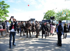 AK Parti'nin tarihi kongresinden fotoğraflar