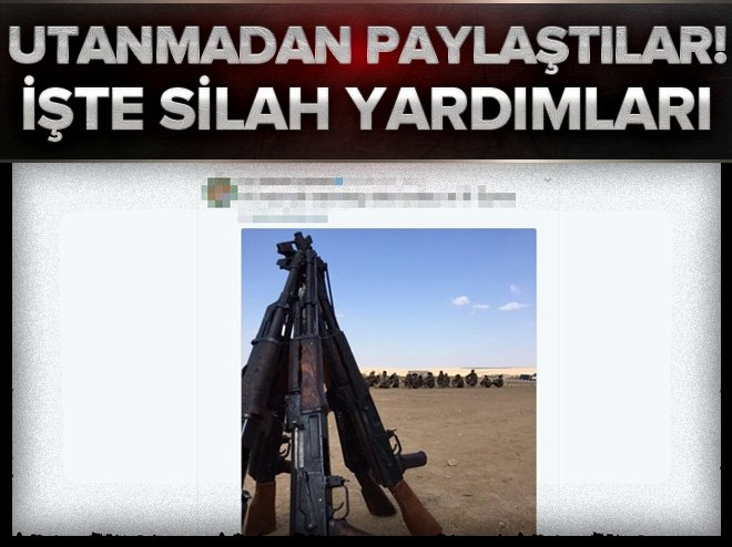 CENTCOM, Suriye'deki silah yardımlarının fotoğraflarını paylaştı