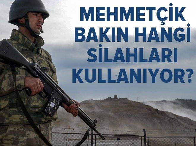 Mehmetçik bakın hangi silahları kullanıyor?