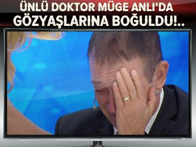 Ünlü doktor, Müge Anlı'da gözyaşlarına boğuldu