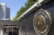 """Dışişleri Bakanlığından """"İsrail Parlamentosu"""" açıklaması"""