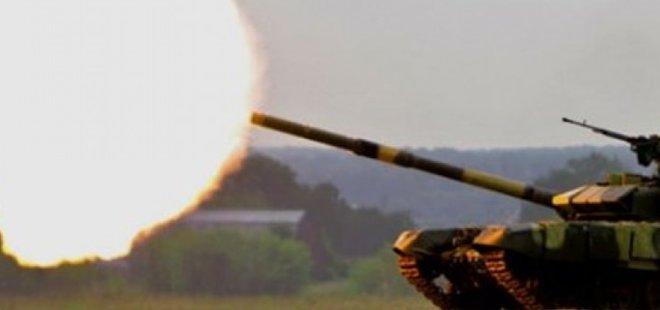 TÜRKİYE AFRİN'DE YPG'Yİ BOMBALADI