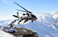 Irak sınırındaki dağlar teröristlerden temizlendi