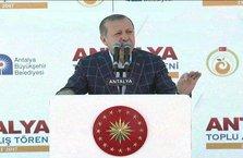Erdoğan: Damdan düşmeyenler bu işleri bilmez