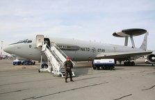 NATO'nun keşif uçakları ilk kez DEAŞ'a karşı görevlere katıldı