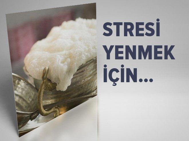 Stresi yenmek için...