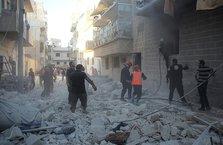 İdlib'te yerleşim yerine vakum bombalı saldırı