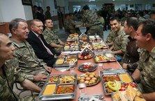 Cumhurbaşkanı Erdoğan Şırnak'ta askerler ile iftar yaptı
