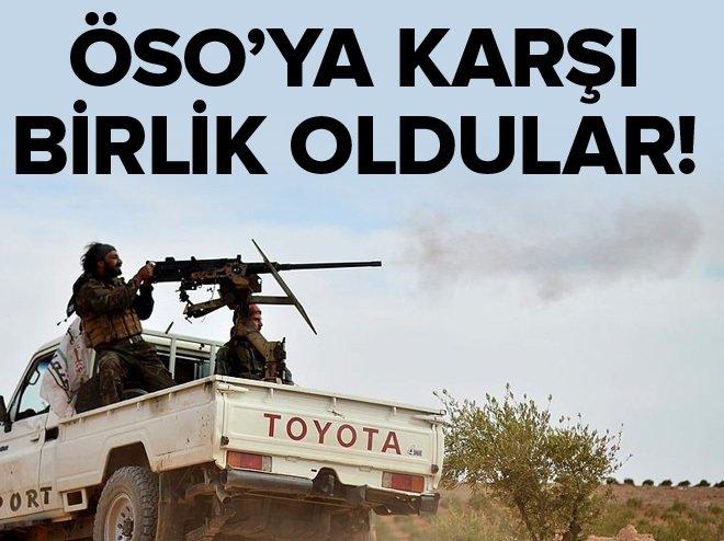 """""""ÖSO'ya karşı PYD/PKK-rejim-DEAŞ ortaklığı"""""""