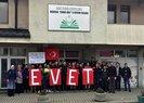 SANCAK'TAN TÜRKİYE'YE EVET DESTEĞİ