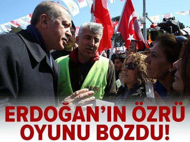 Erdoğan'ın özrü, Alevilere oyunu bozdu