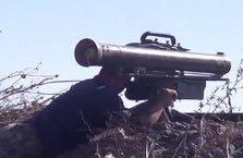 İlk kez kullandılar! Esad'a ait tankı böyle vurdular
