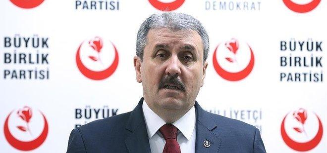 BÜYÜK BİRLİK PARTİSİ'NDEN REFERANDUM KARARI