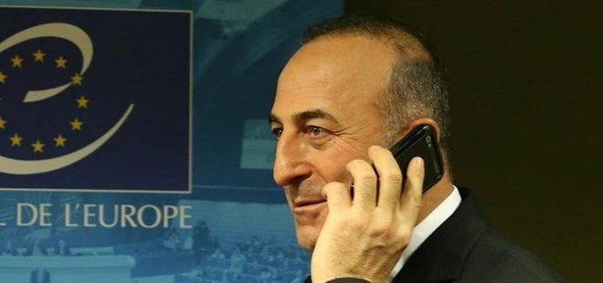 ÇAVUŞOĞLU'NDAN KRİTİK TELEFON GÖRÜŞMESİ